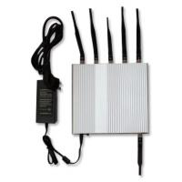China 2G / 3G 29dBm Mobile Phone Signal Jammer Cell Phone And Wifi Jammer 1-20m on sale