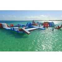 Wholesale PVC Tarpaulin Aquaglide Inflatable Water Park / inflatable aqua park For Pool from china suppliers