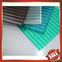 Wholesale twin-wall PC sheet,multiwall pc sheet,hollow pc sheeting,pc roofing sheet,twin wall pc sheet for greenhouse and building from china suppliers