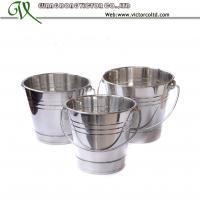 Buy cheap Stainless steel ice cube bucket with steamer 4 size to choose from wholesalers