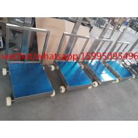 Quality Movable Bench Weighing Scale With Wheels / Back Rail 60 X 80cm 500kg ROHS Approved for sale