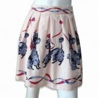 Wholesale Women's Poodle Printed Skirt from china suppliers