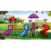 Wholesale outdoor playground equipment for home, park swings and slides, kids outdoor play equipment from china suppliers