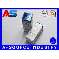 Buy cheap Custom Made 10 Ml Vial Storage Box With Two Sides Printing UV Matt Finish from wholesalers