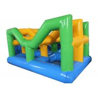 Buy cheap Unique Inflatable Water Park Vista Sea Climbing Obstacle Course from wholesalers