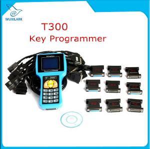 Buy cheap T300 Key Programmer Newest V16.8 T 300 T-300 OBD2 Auto Key Transponder English Spanish Optional T300 T-code Key Maker from wholesalers
