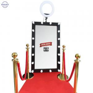 China Factory direct mirror photo booth high quality lowest price magic mirror photo booth on sale