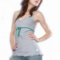 Wholesale Women's Organic Cotton Singlet from china suppliers