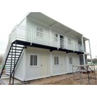 Wholesale Fast Assembly Prefabricated Shipping Container Houses , 20ft / 40ft Shipping Container Home from china suppliers