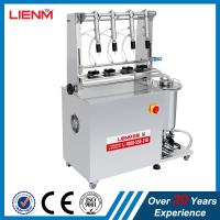 Wholesale LM Stainless Steel 4 Heads Perfume Bottle Filler with CE Certificate Semi auto 4 Heads Perfume Bottling machine from china suppliers
