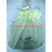 Wholesale Recyclable Hotel Laundry Drawstring Plastic Bags With LDPE Material from china suppliers