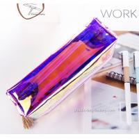 Wholesale Fashion Plastic Cosmetic Bags Heat - Sealed Welding Or Stitching / Sewing from china suppliers