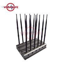 China Updated Multi - Purpose Cell Phone Frequency Jammer Stable Capability 6 - 8W / Band on sale