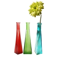 Wholesale Artificial Flower Infinity Vases Polished Crystal Glass Vases from china suppliers