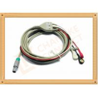 Medical Hellige ECG Trunk Cable , ECG Snap Connector With TPU Material