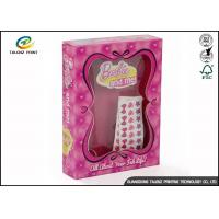 Buy cheap Pink Color Corrugated Carton Box / Children Toy Paper Packaging Box from wholesalers