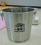 Hot Sales 7L 9L Stainless steel Ice Bucket Golden Mirror Sanding Polishing High