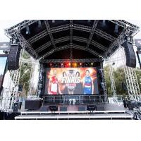 Wholesale High Contrast Outdoor Video Screen Rental Die Casting Aluminum Panel from china suppliers