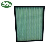 Quality Mini Pleat G4 Pre Air Filter Ventilation System Synthetic Media Aluminum Alloy for sale