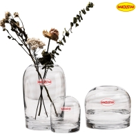 Wholesale Polished Decorative Thick Crystal Glass Vases 11cm Diameter from china suppliers