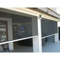 Buy cheap Decorative outside usage Motorized automatic roller screen for porch from wholesalers