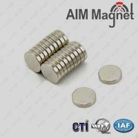 Buy cheap Strong Small Disc D8 x 1mm Neodymium Magnet from wholesalers