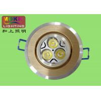 Wholesale 88 * 40mm, 70mm Round Silver 3 * 1w White, Warm White Without Uv, Ir Radiation ROHS from china suppliers