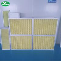 Wholesale Aluminum Frame Pleat Air Pre Filter from china suppliers
