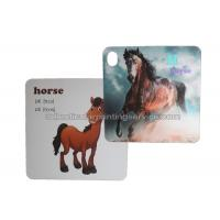 Custom 3d Lenticular Card PET For Childrenl Gifts / 3d Lenticular Image