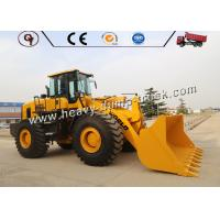 Buy cheap Heavy Construction Equipment front end loader 6ton SAM967 SAM966 wheel loader from wholesalers