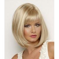 Wholesale 24 Inch Party Cute Blonde Cosplay Wig / Synthetic Human Hair Wigs for Women from china suppliers