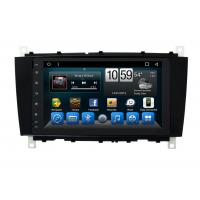Buy cheap Android Mercedes Benz C - Class Double Din Car Dvd Player GPS Navigation Head from wholesalers