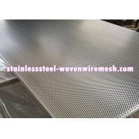 Wholesale Stainless Steel Perforated Metal Sheet Round Hole High Temperature Oxidation Resistance from china suppliers