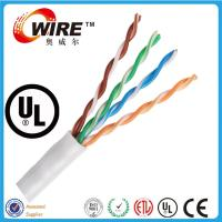 Wholesale Ethernet cable Cat5e 350MHz Unshielded Riser Wire 1000 ft category cable bulk cat5e from china suppliers