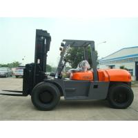 Wholesale 2 Stage / 3 Stage Mast Forklift , Diesel Engine Forklift Truck FD100 2000 Working Hours from china suppliers