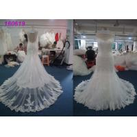 Wholesale Fashion Princess Mermaid Wedding Dresses / Women Maxi Tulle Mermaid Bridal Gowns from china suppliers
