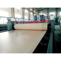 Wholesale WPC PVC foam board extrusion line WPC PVC foaming hard surface sheet extrusion machine from china suppliers