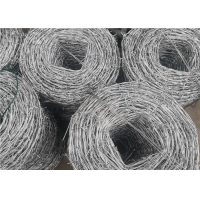 Wholesale 25kg Roll Galvanized Steel Cyclone Barbed Wire For Electro Fencing from china suppliers