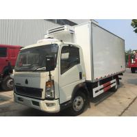 Wholesale Light Refrigerated Trucks And Vans , Environmental Reefer Box Truck from china suppliers