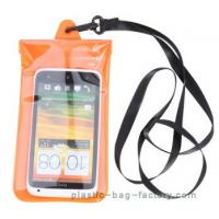 Wholesale Soft PVC Waterproof Pouch Bag Colorful Cover Guaranteed Submersible To 19ft / 6m from china suppliers