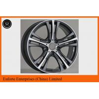 Buy cheap 17 inch 18 inch 428i 435i bmw replica wheels black machined finish from wholesalers