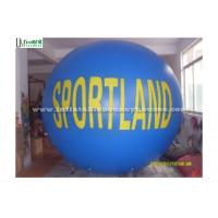 Wholesale Blue / White Big Advertising Inflatables , Inflatable Helium Balloon from china suppliers