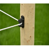 Wholesale ISO9001 LLDPE wood post Electric Fence Post Insulators from china suppliers