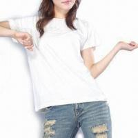 Wholesale Women's Organic Cotton Short Sleeved Tee from china suppliers