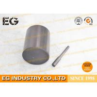 Wholesale 0.25 Inch Fine Grain Graphite Rod Electrodes , 48 HSD Stirring Graphite Cylinder from china suppliers