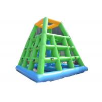 Buy cheap Exciting Inflatable Water Park Climbing Action Tower For Adults Sport Games from wholesalers