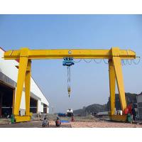 Wholesale Yuantai China top design Single Beam Gantry Cranes For Lifting Steel Pipes Outdoor Usage from china suppliers