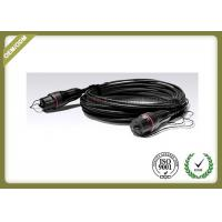 Buy cheap Black Color Outdoor Fiber Optic Cable FULLX LC To FULLX LC Multi Purpose 2 Cable from wholesalers
