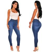 Wholesale Custom Ladies High Waisted Jeans Stretch Womens High Waisted Jeggings from china suppliers