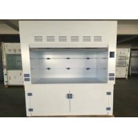 Quality Waterproof PP Fume Hood With Porcelain White PP Countertops and Exhaust System for sale